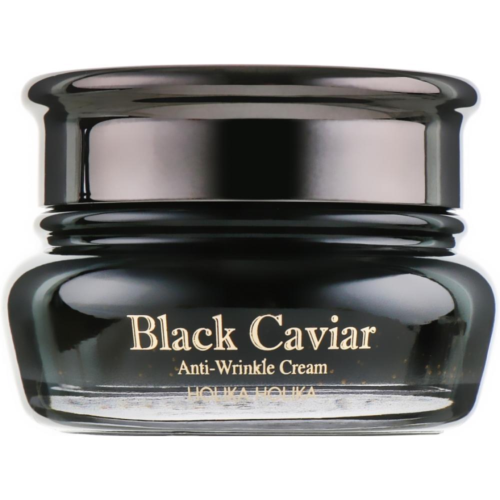 Купить Лифтинг крем с экстрактом черной икры Holika HolikaBlack Caviar Antiwrinkle Cream