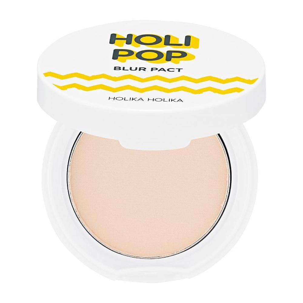 Купить Пудра для лица - Holika Holika HOLI POP BLUR PACT 01 Light Beige