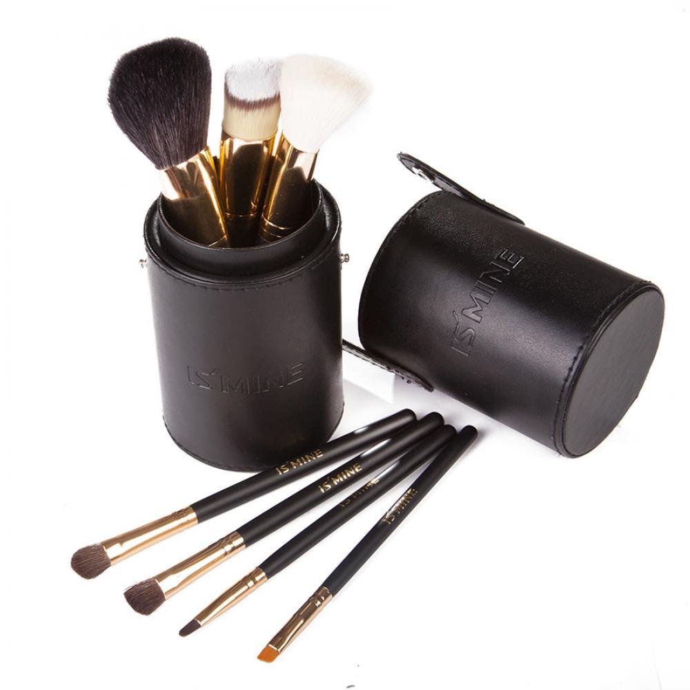 Купить Набор кистей для макияжа 7 шт - Make Up Me TUBE-7-BLACK Черный