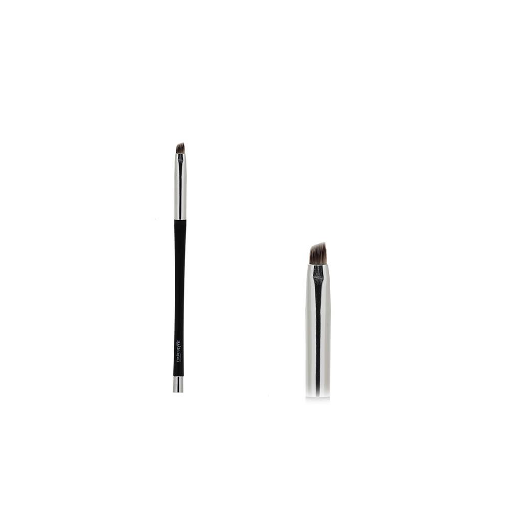 Купить Скошенная кисть для проработки тонких линий, нанесения подводки, проработки бровей - Make Up Me ММК012