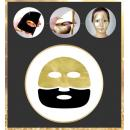 Купить Антивозрастная маска с икрой и золотом - Holika Holika Prime Youth Gold Caviar Gold Foil Mask
