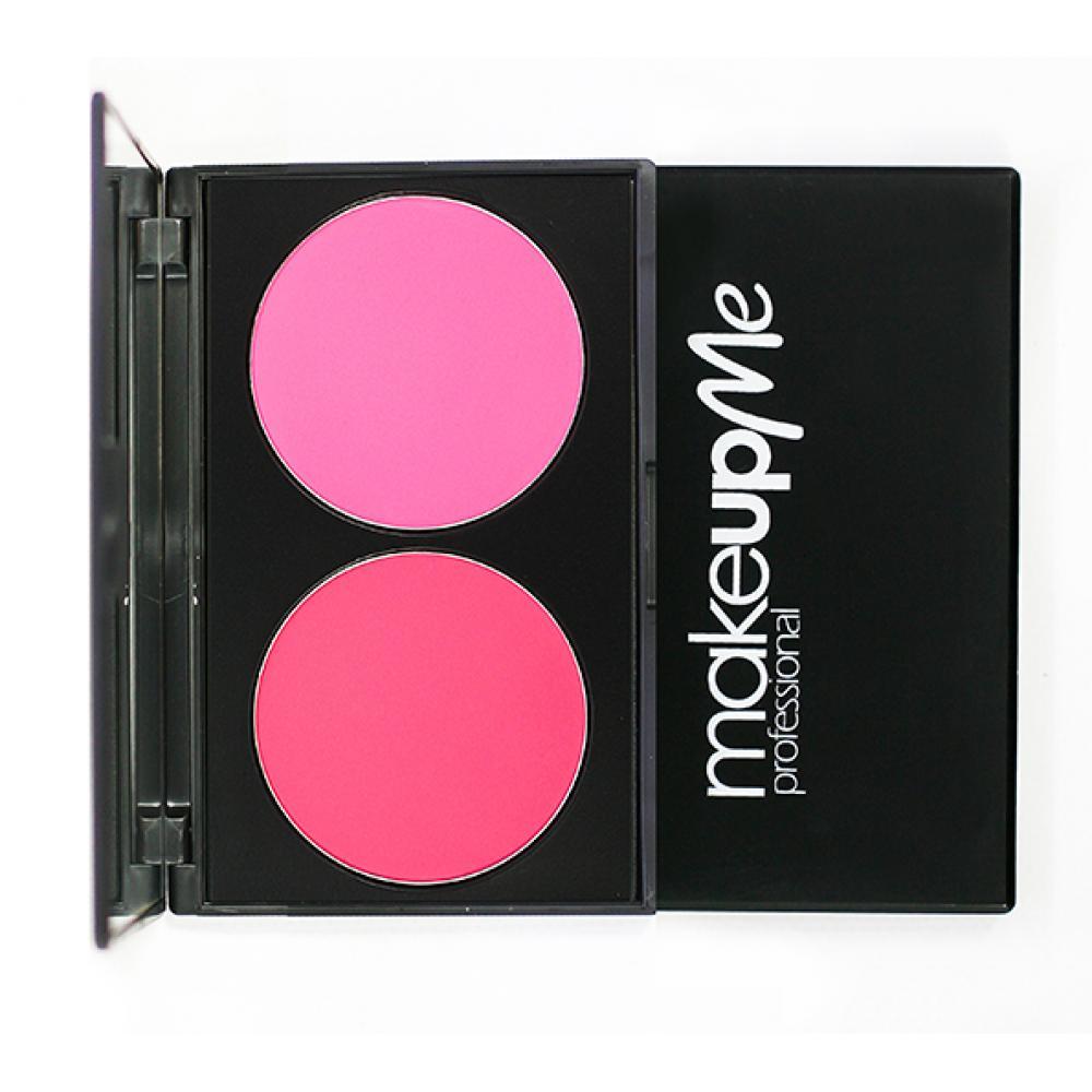 Купить Профессиональная палитра румян 2 оттенка - Make Up Me H2-6