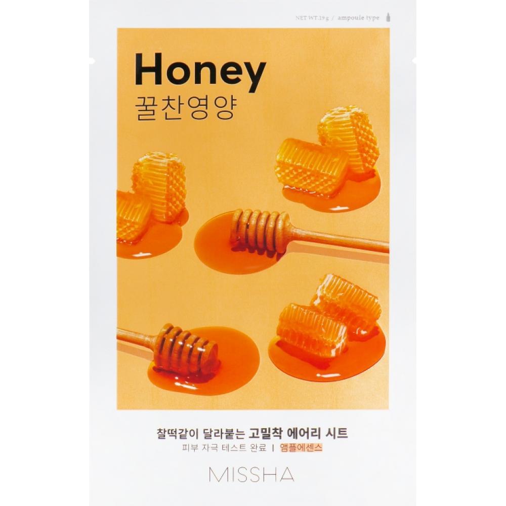 Купить Тканевая маска с медом Missha Airy Fit Sheet Mask (Honey)