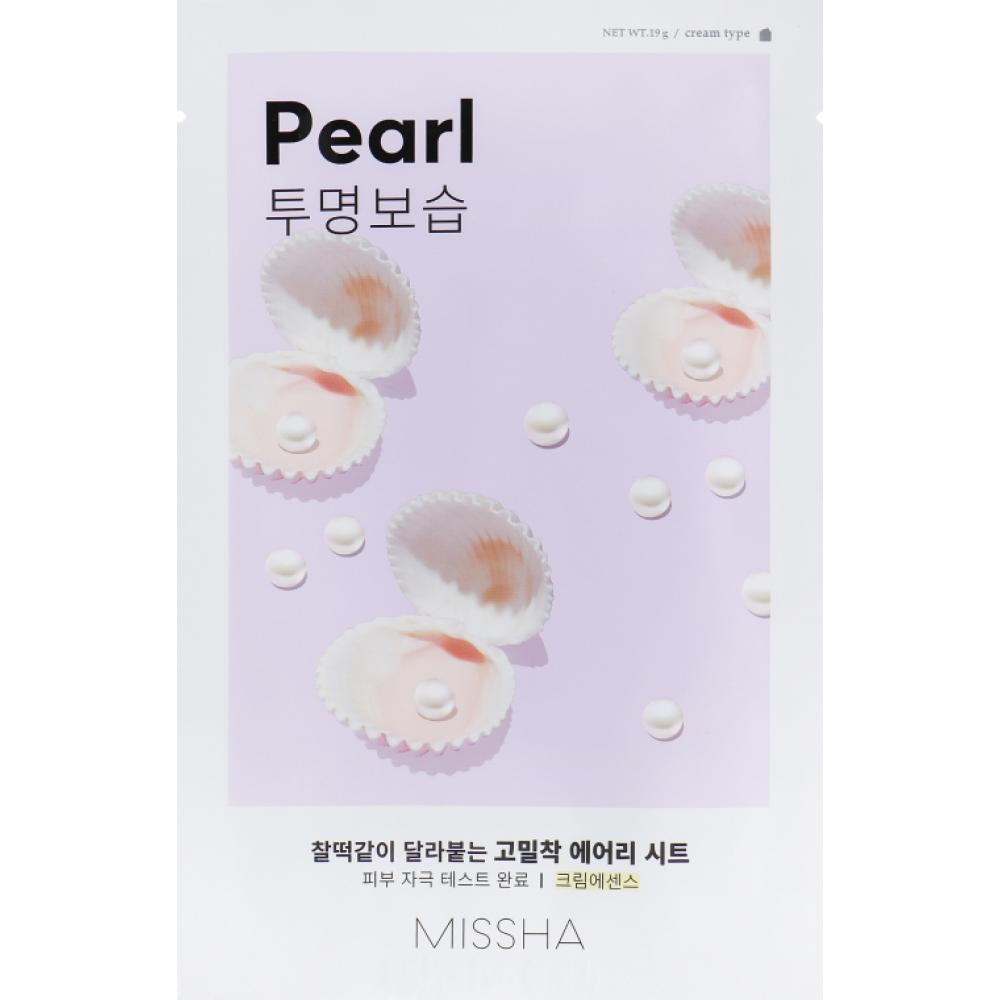 Купить Тканевая маска с экстрактом жемчуга Missha Airy Fit Sheet Mask (Pearl)