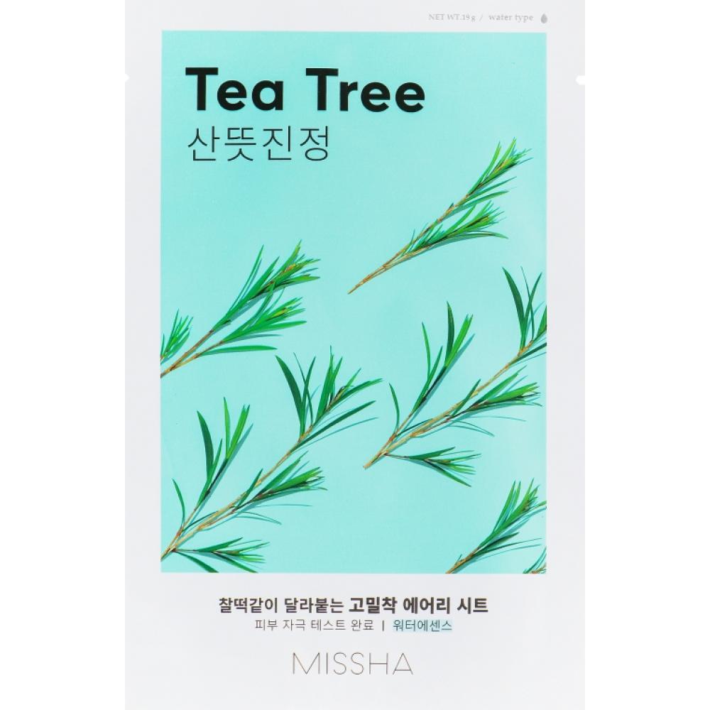 Купить Тканевая маска с чайным деревом Missha Airy Fit Sheet Mask (Tea Tree)