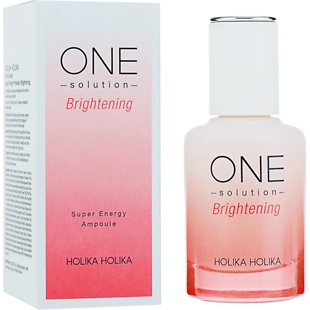 Купить Сыворотка для лица осветляющая One Solution Super Energy Ampoule whitening