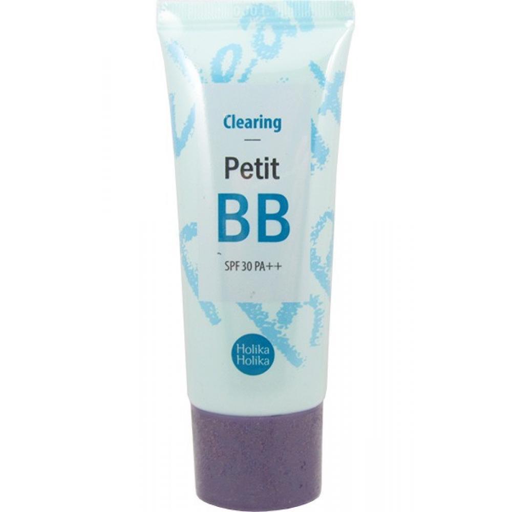 Купить Очищающий ББ-крем - Holika Holika Clearing Petit BB SPF30 PA++