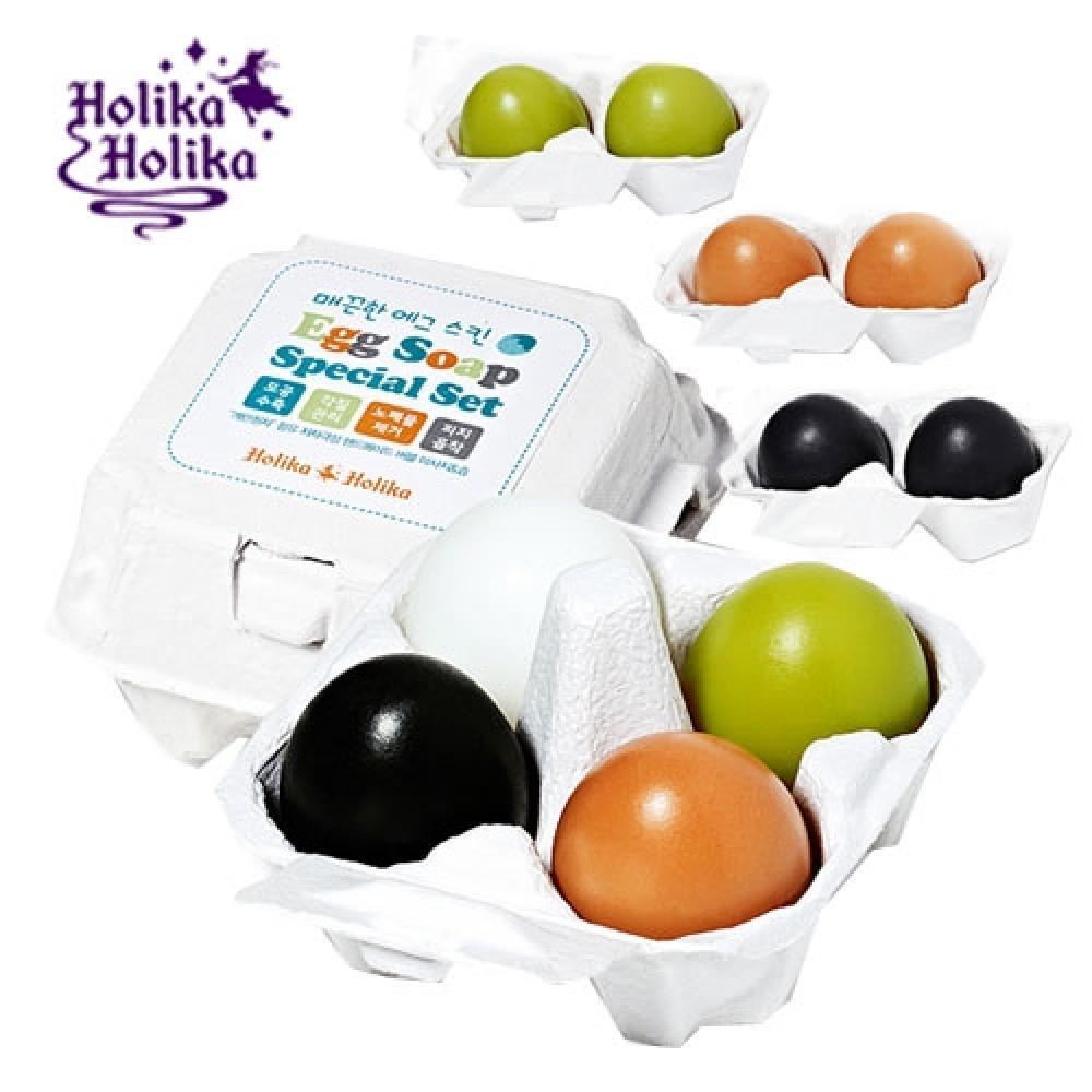 Купить Мыло-маска Holika Holika Smooth Egg Soap