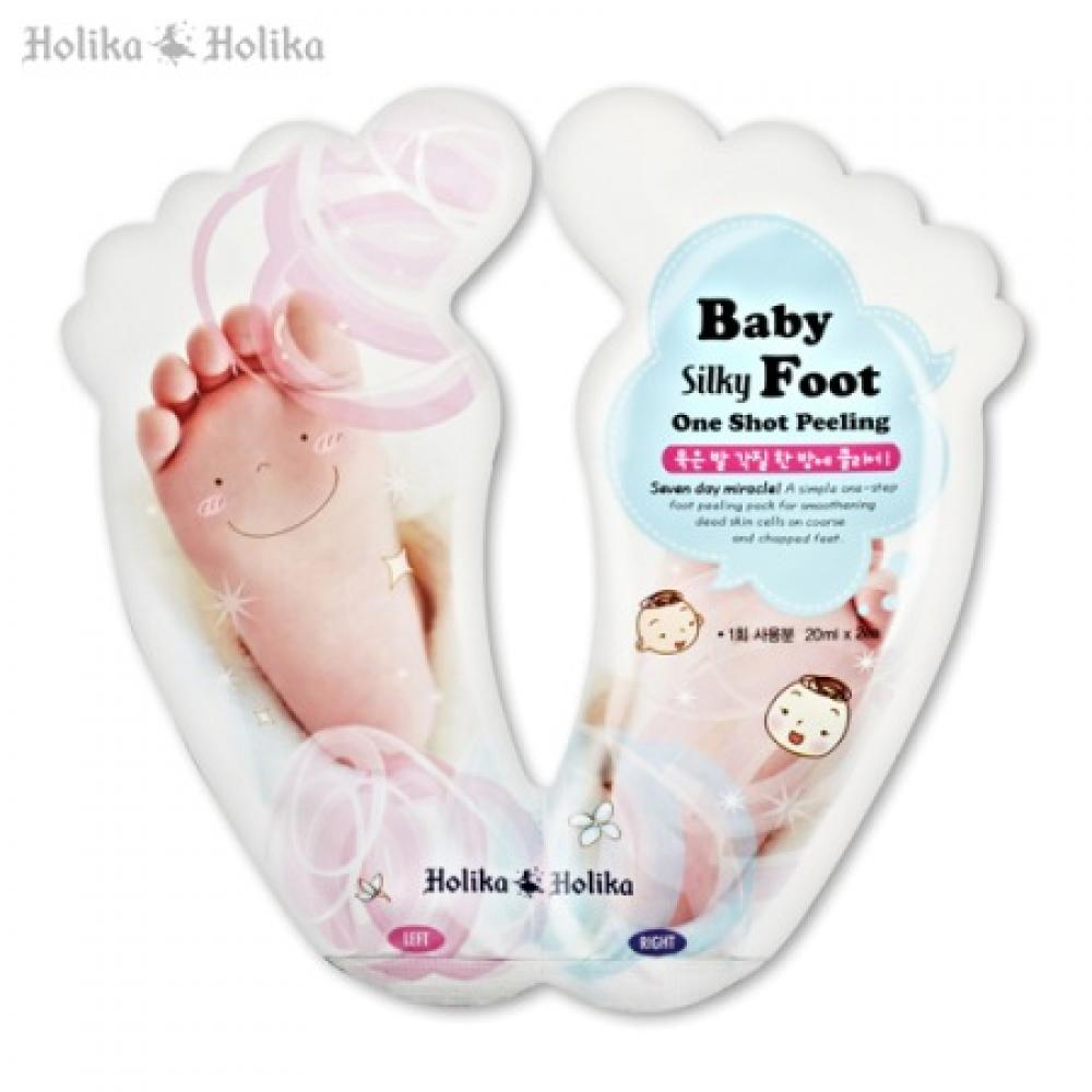 Купить  Пилинг для ног - Holika Holika Baby Foot One Shot Peeling