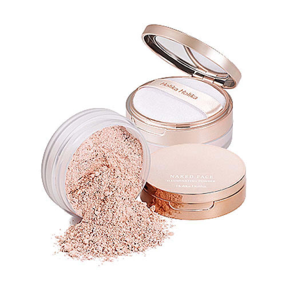 Купить Рассыпчатая пудра с эффектом сияния - Holika Holika Naked Face Illuminating Powder