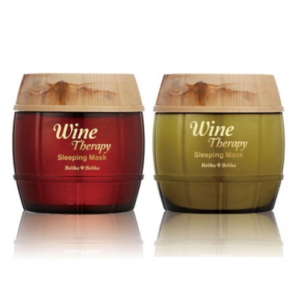 Купить Ночная маска повышенной эффективности Holika Holika Wine Therapy Sleeping Mask Wine