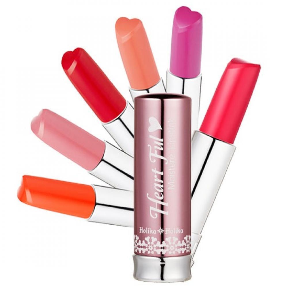 Купить Увлажняющая губная помада - Holika Holika Heartful Moisture Lipstick