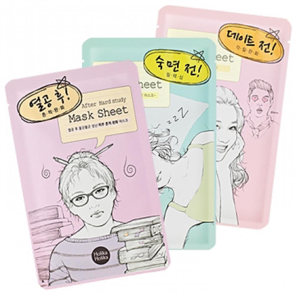 Купить Тканевая маска - Holika Holika After Mask Sheet