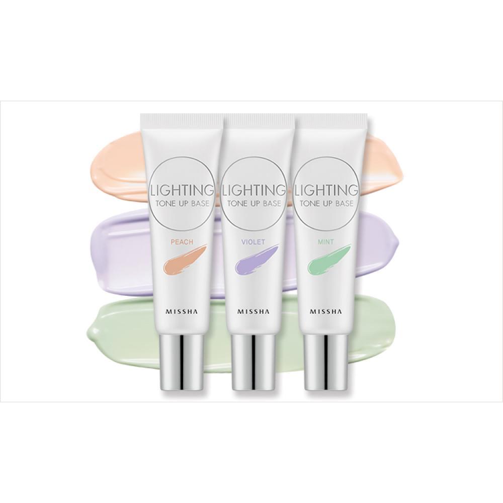 Купить Осветляющая база под макияж - Missha Lighting Tone Up Base SPF30 PA++