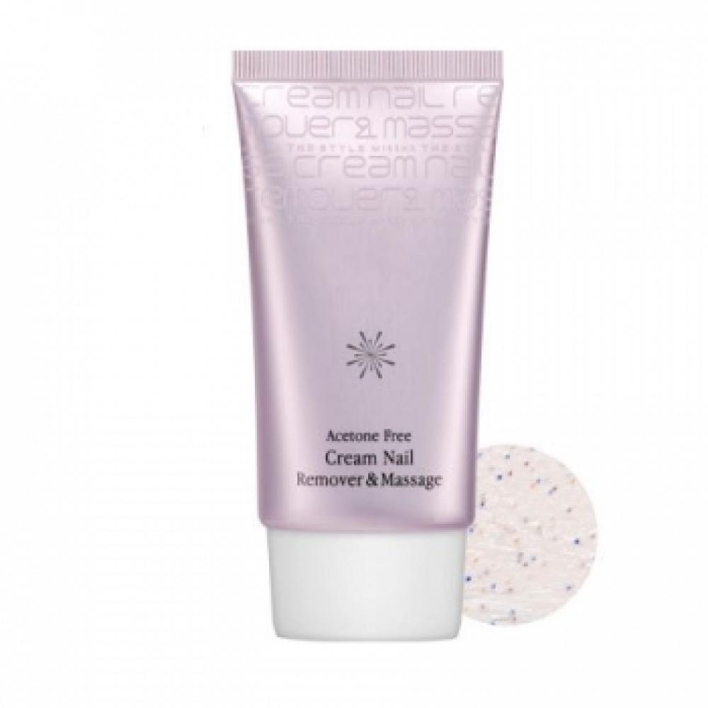 Купить Крем массажный для снятия лака без ацетона Missha The Style Acetone Free Cream Nail Remover Massage