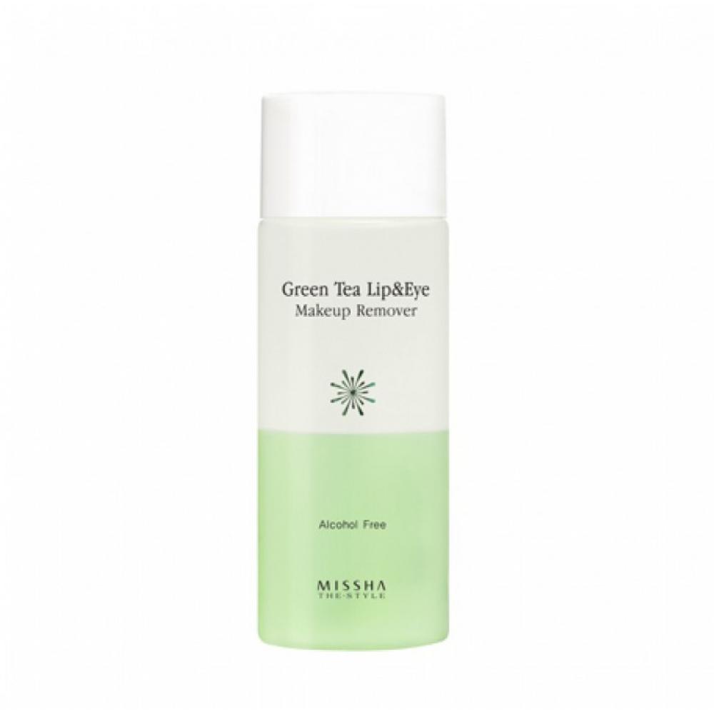 Купить Жидкость для снятия макияжа - Missha The Style Green Tea Lip & Eye Make Up Remover