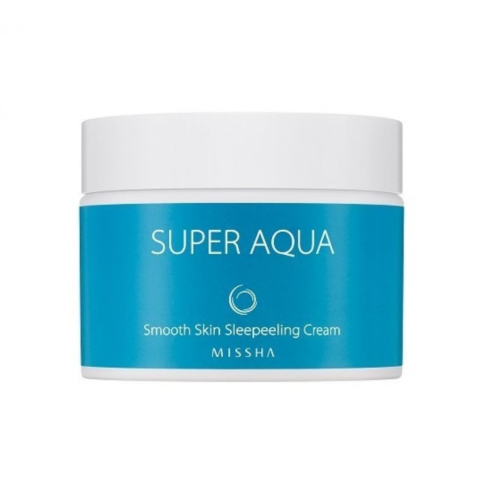 Купить Ночной крем для лица - Missha Super Aqua Smooth Skin Sleepeeling Cream
