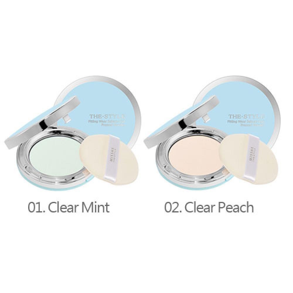 Купить Прозрачная компактная пудра - Missha Sebum-Cut Powder Pact (Clear Mint)