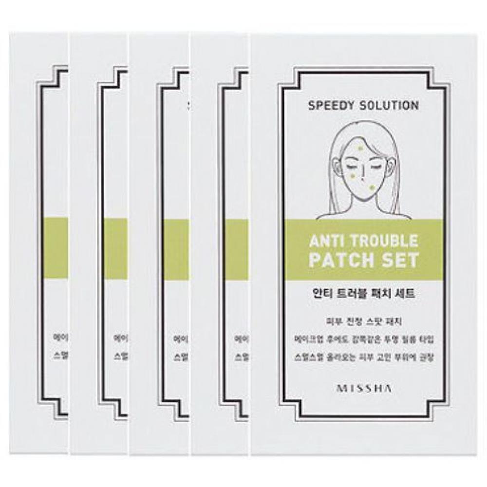 Купить Набор патчей для борьбы с акне - Missha Speedy Solution Anti Trouble Patch
