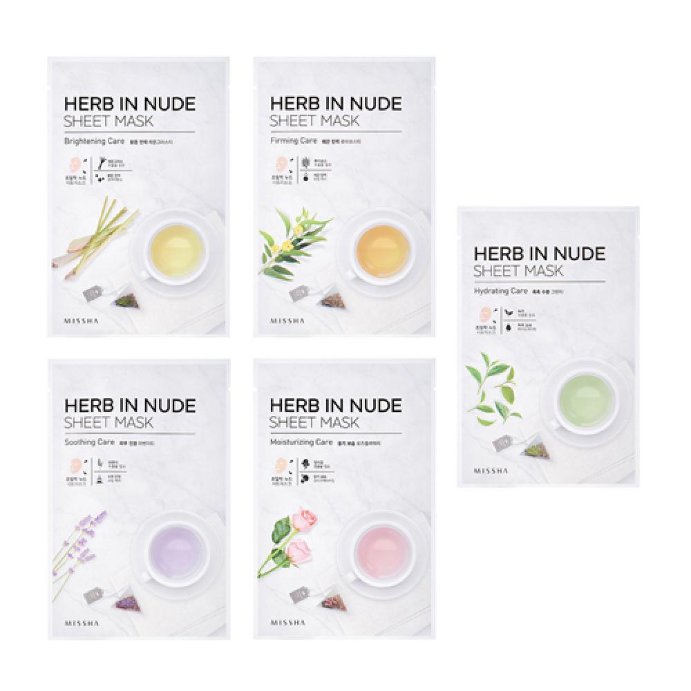 Купить Маска для лица - Missha Herb In Nude Sheet Mask