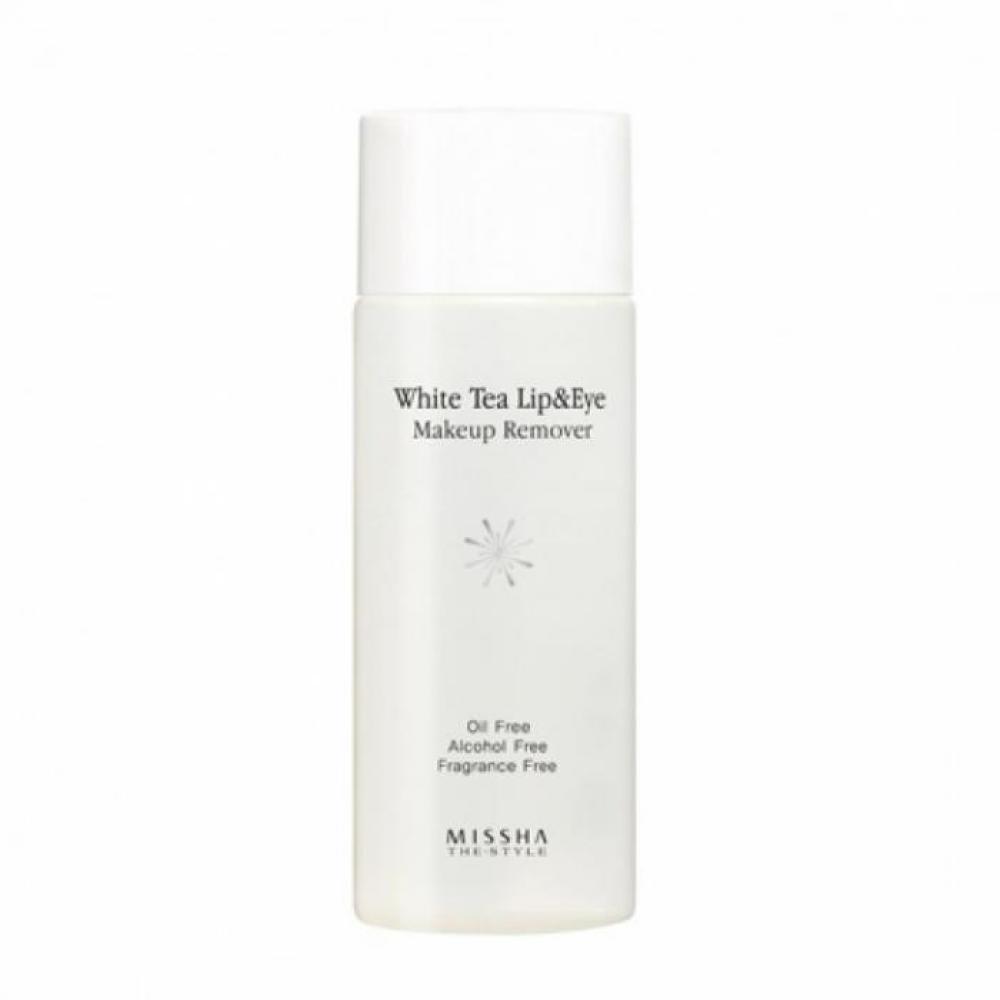 Купить Средство с экстрактом белого чая для снятия макияжа - Missha The Style White Tea Lip & Eye Makeup Remove