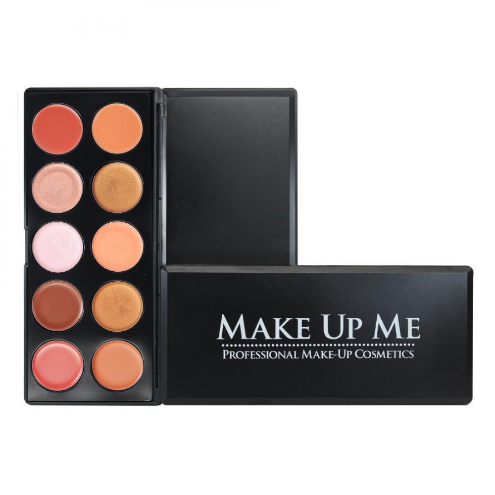 Купить Профессиональная палитра помад для губ 10 цветов Make Up Me L10-1