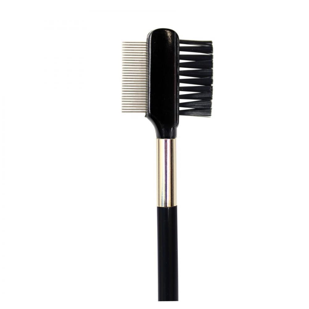 Купить Кисть расческа-разделитель для бровей и ресниц - Make Up Me K-15