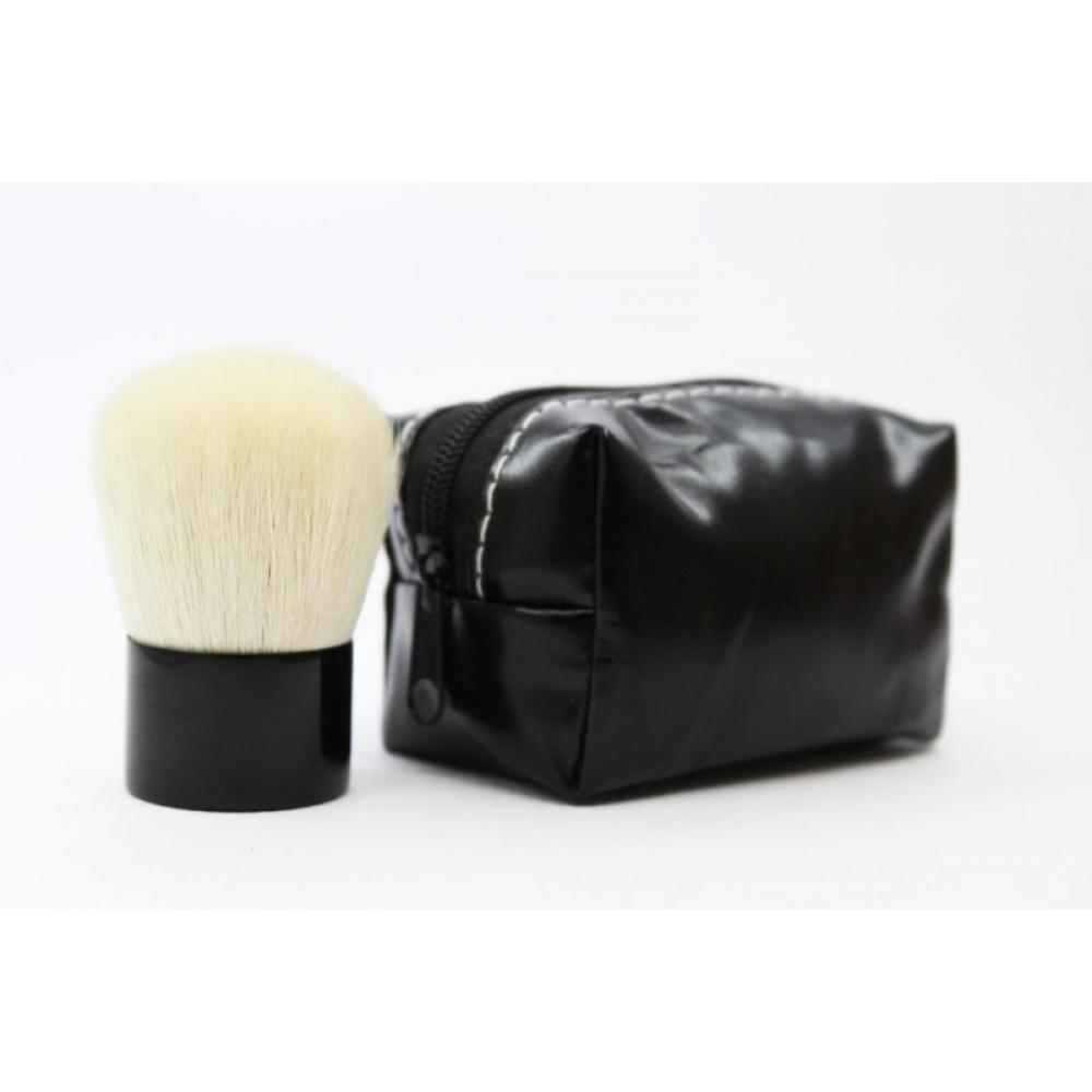 Купить Кисть кабуки в сумочке - Make Up Me KAB Черная