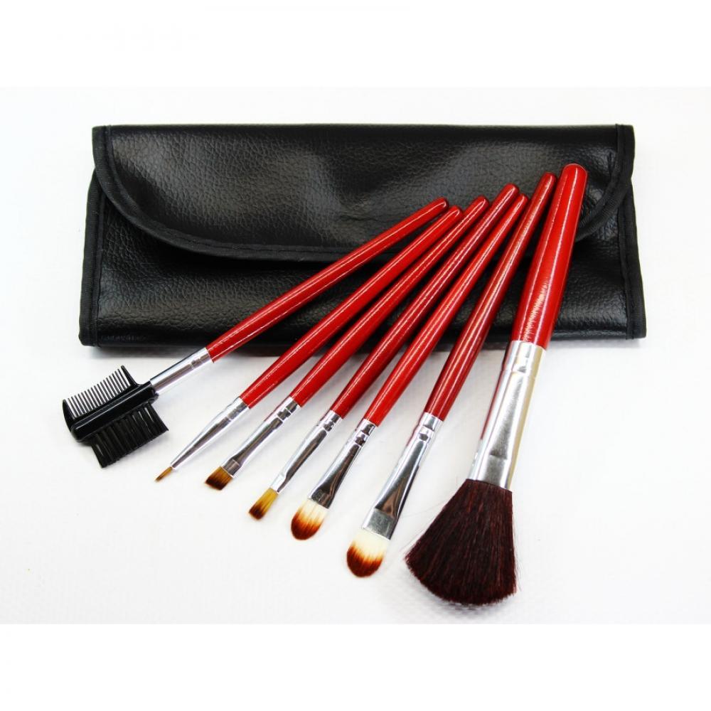 Купить Набор кистей для макияжа 7 шт - Make Up Me BROWN-7 Коричневый