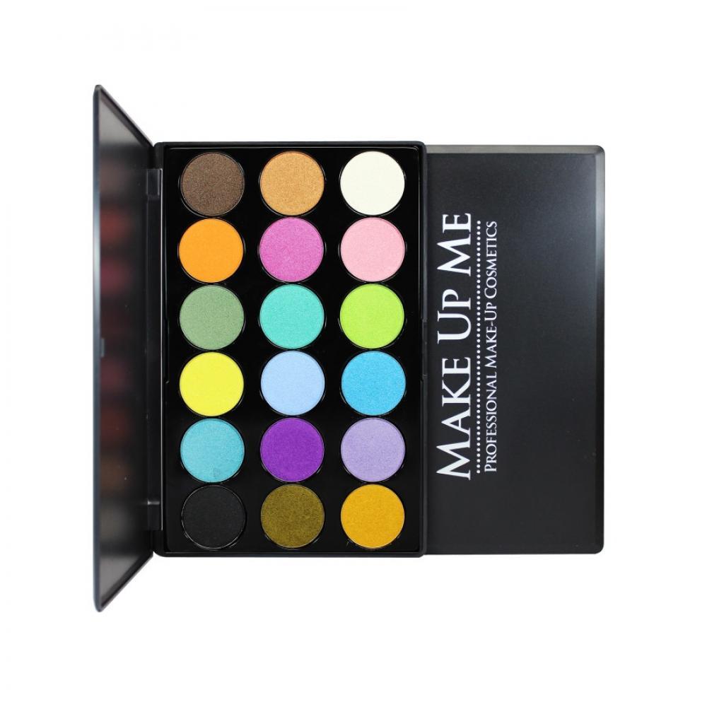 Купить Профессиональная палитра теней с блеском 18 цветов Make Up Me G18