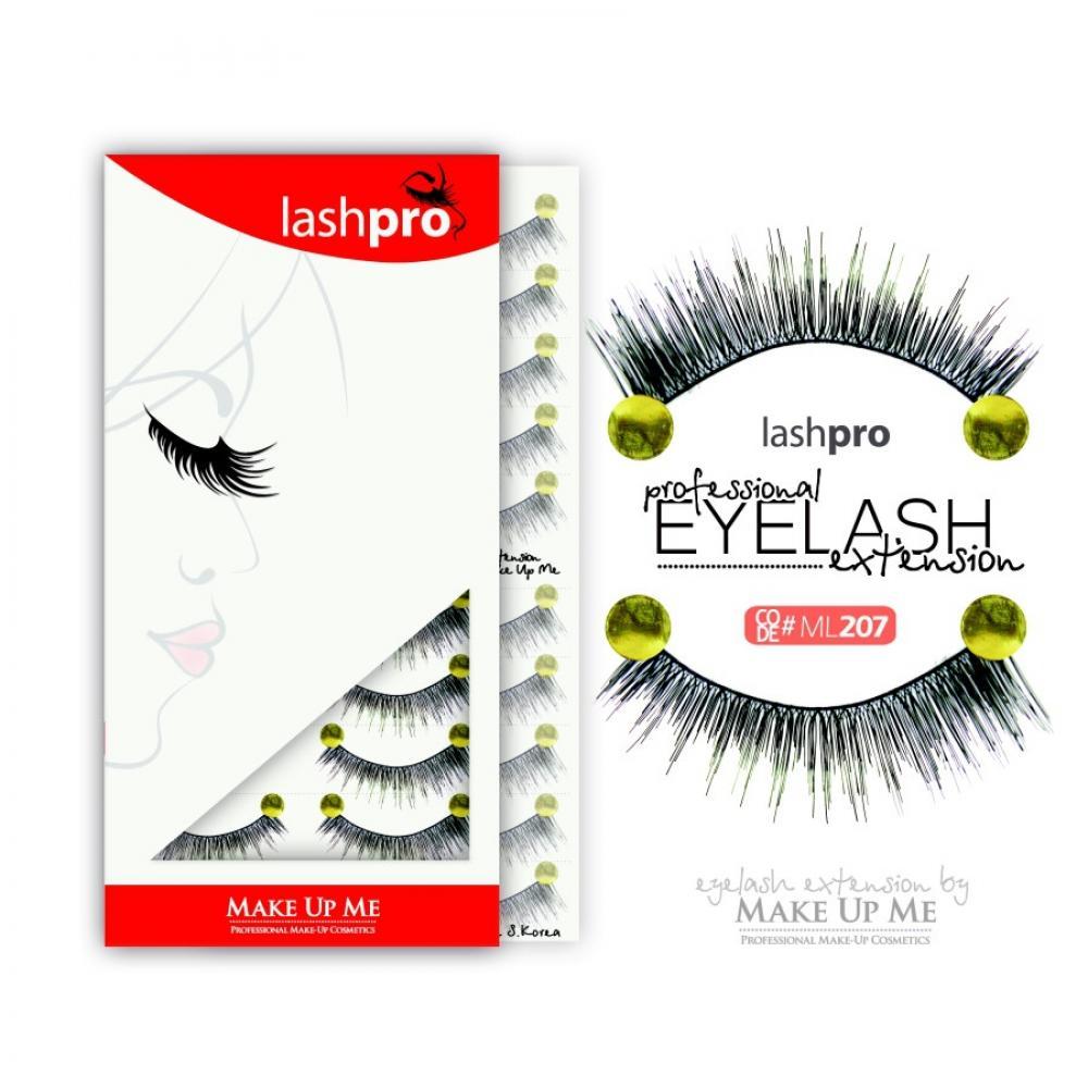 Купить Профессиональный набор ресниц 10 пар - Make Up Me LashPro ML207