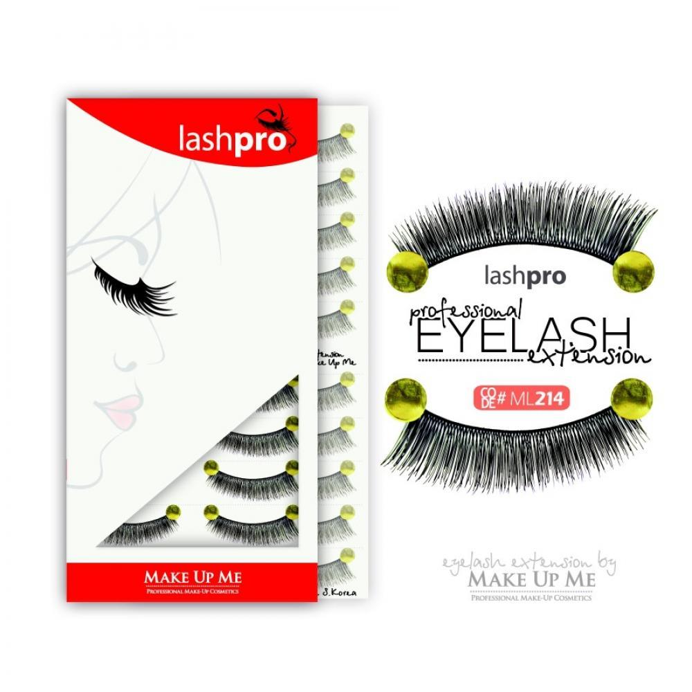 Купить Профессиональный набор ресниц 10 пар - Make Up Me LashPro ML214