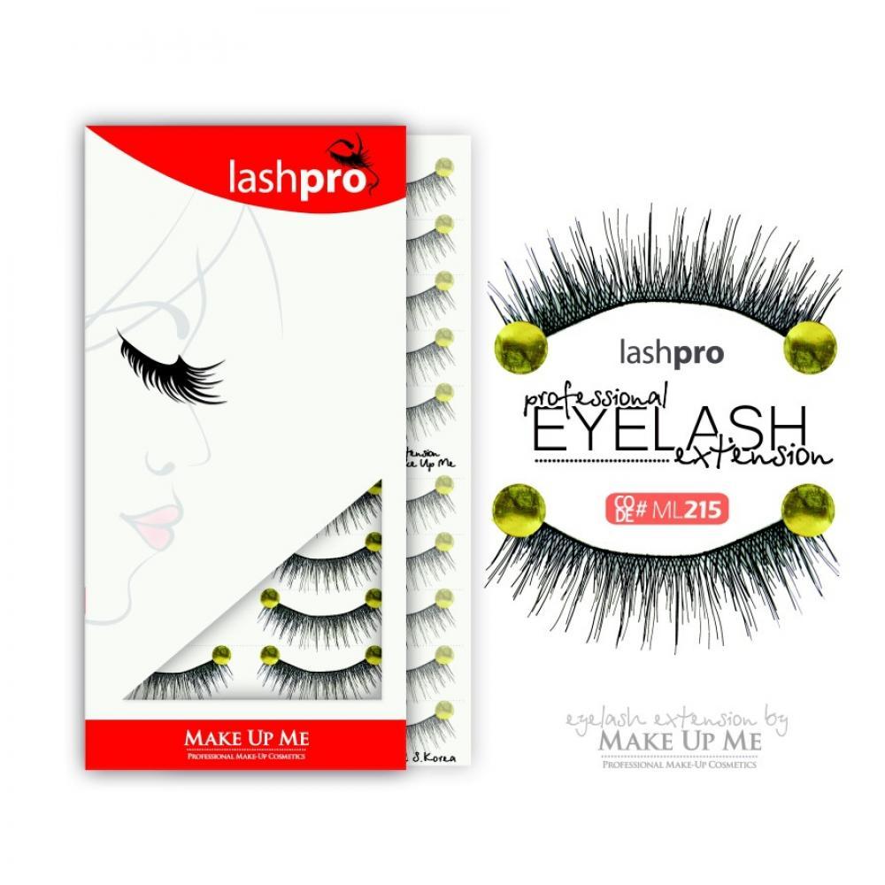Купить Профессиональный набор ресниц 10 пар - Make Up Me LashPro ML215
