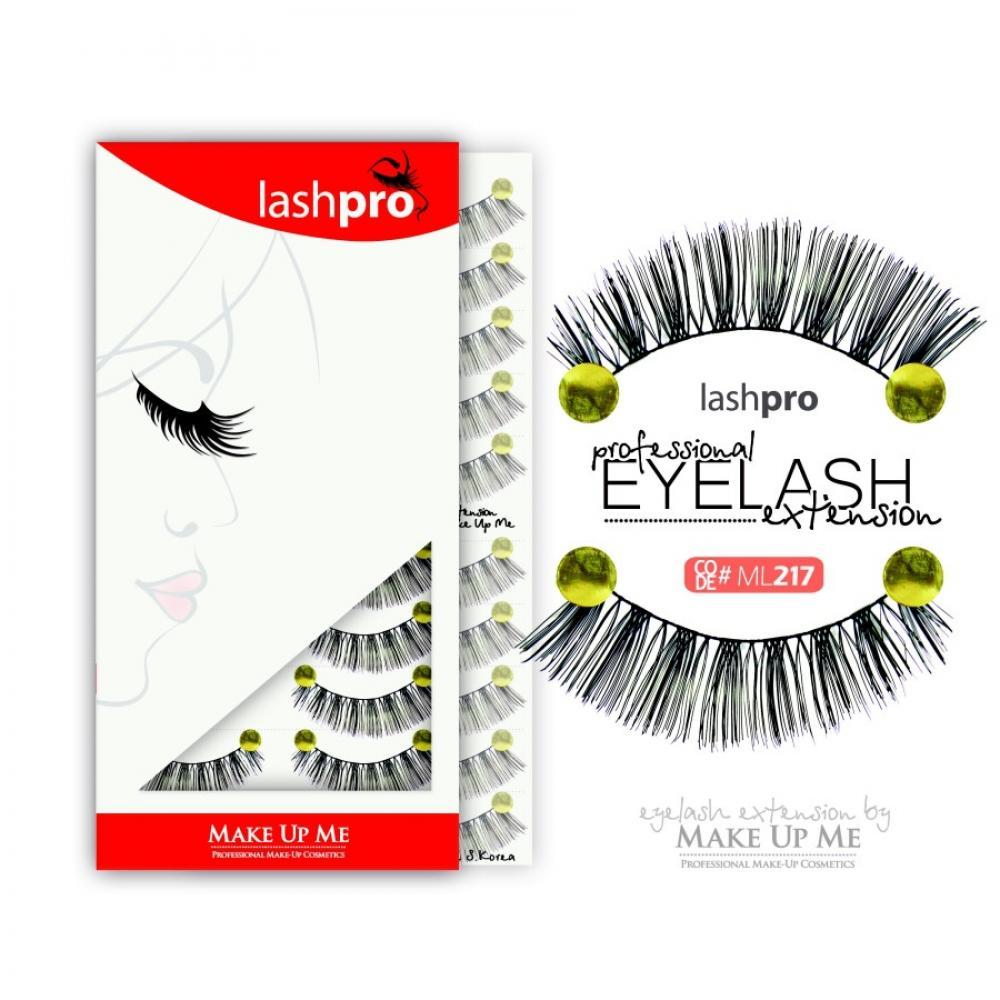 Купить Профессиональный набор ресниц 10 пар - Make Up Me LashPro ML217