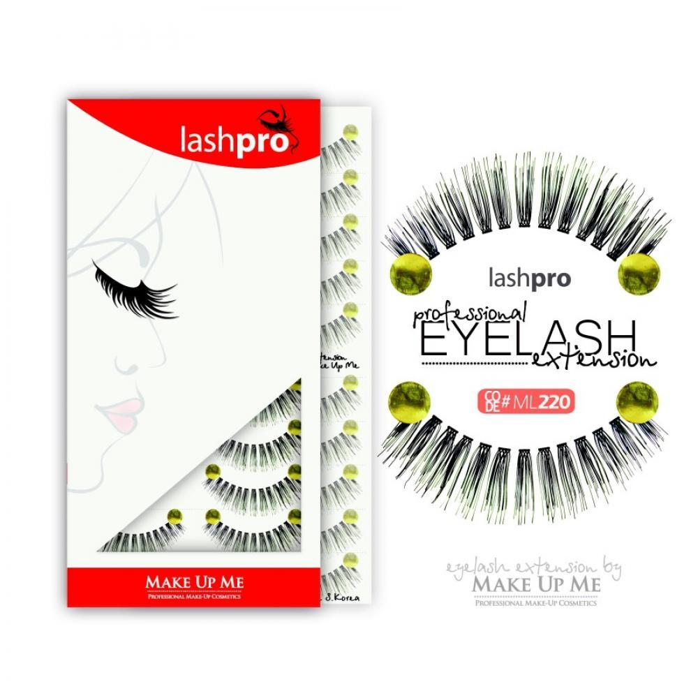 Купить Профессиональный набор ресниц 10 пар - Make Up Me LashPro ML220