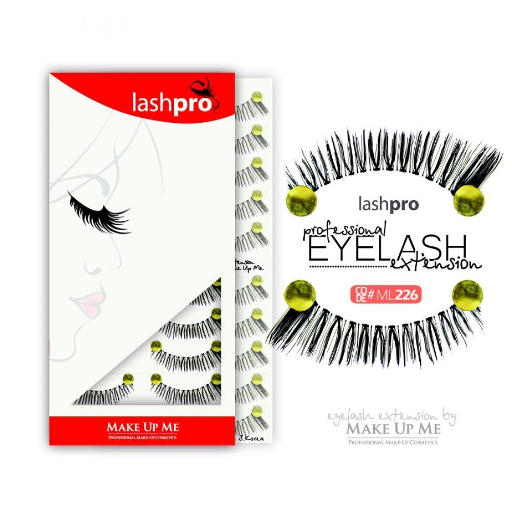 Купить Профессиональный набор ресниц 10 пар - Make Up Me LashPro ML226