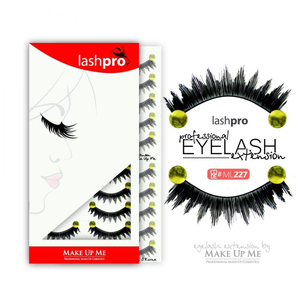 Купить Профессиональный набор ресниц 10 пар - Make Up Me LashPro ML227