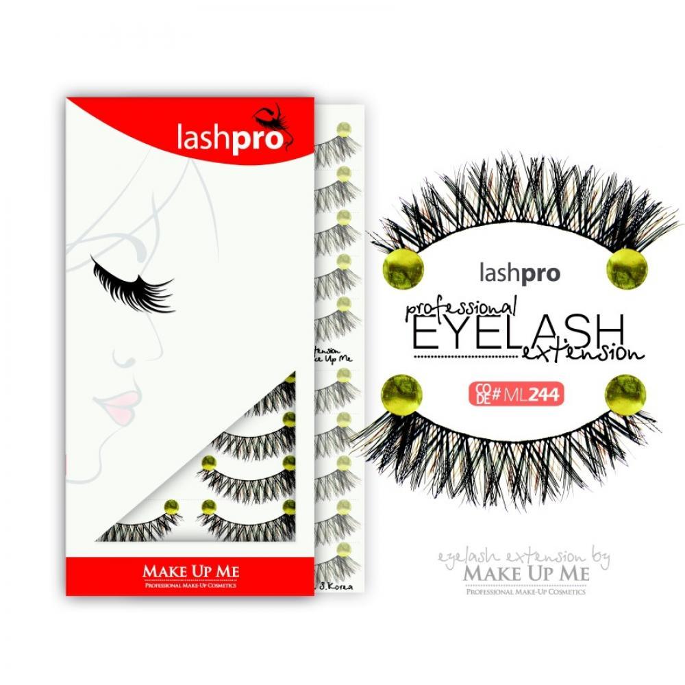 Купить Профессиональный набор ресниц 10 пар - Make Up Me LashPro ML244