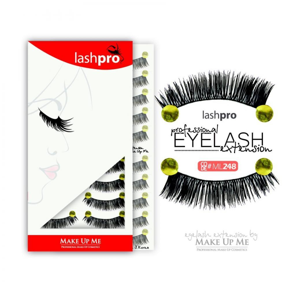Купить Профессиональный набор ресниц 10 пар - Make Up Me LashPro ML248