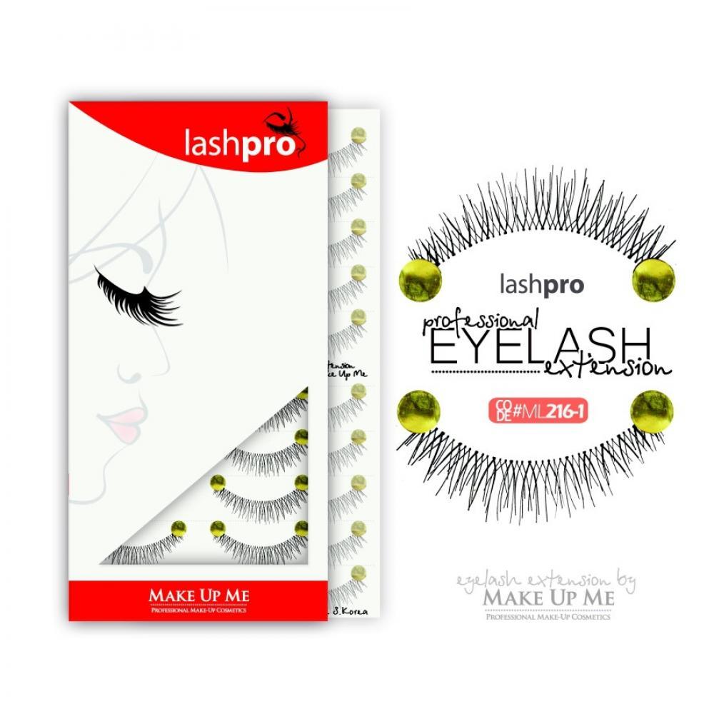 Купить Профессиональный набор ресниц 10 пар - Make Up Me LashPro ML216-1