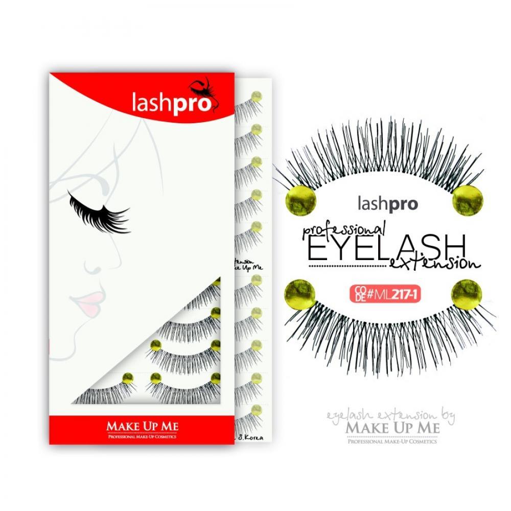 Купить Профессиональный набор ресниц 10 пар - Make Up Me LashPro ML217-1