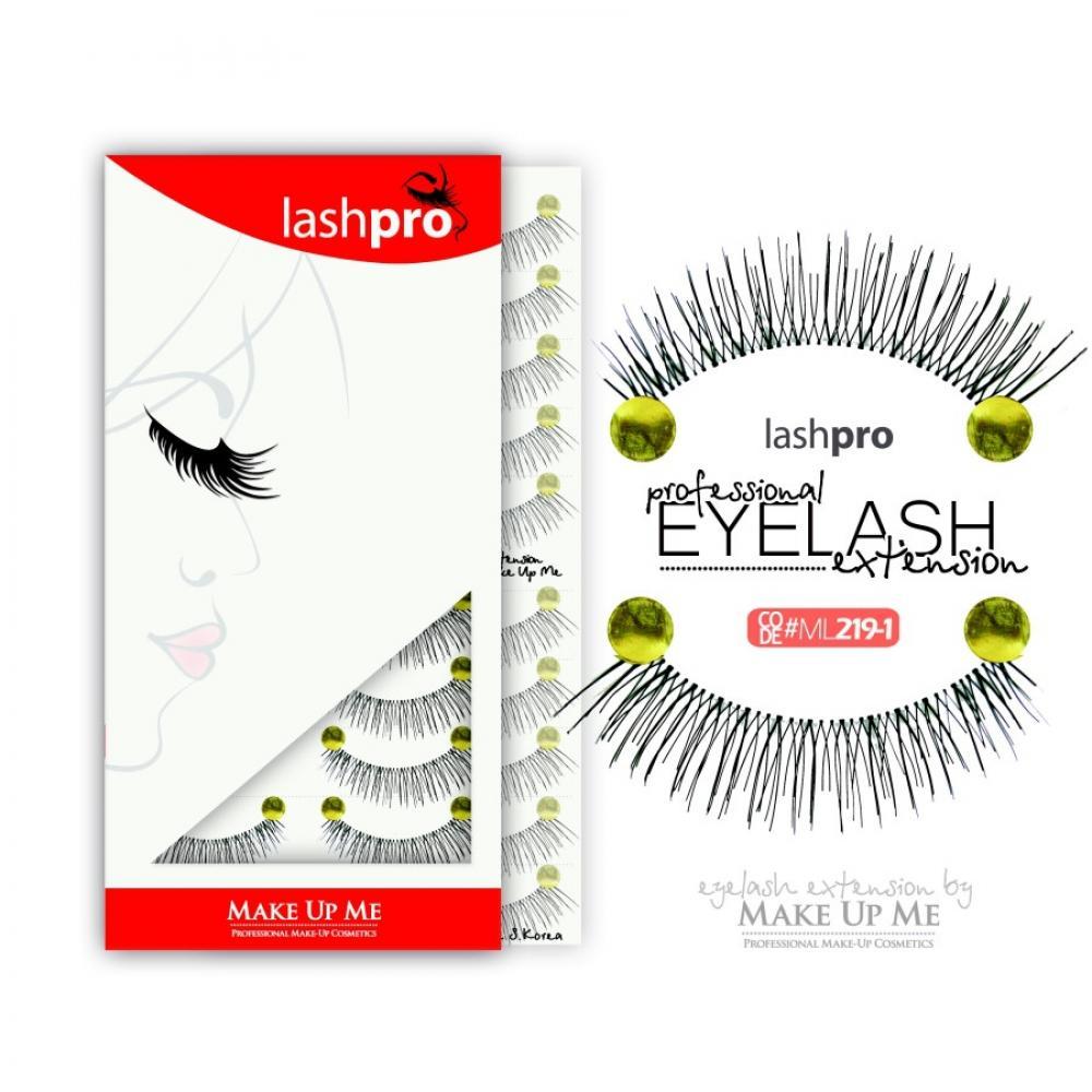 Купить Профессиональный набор ресниц 10 пар - Make Up Me LashPro ML219-1