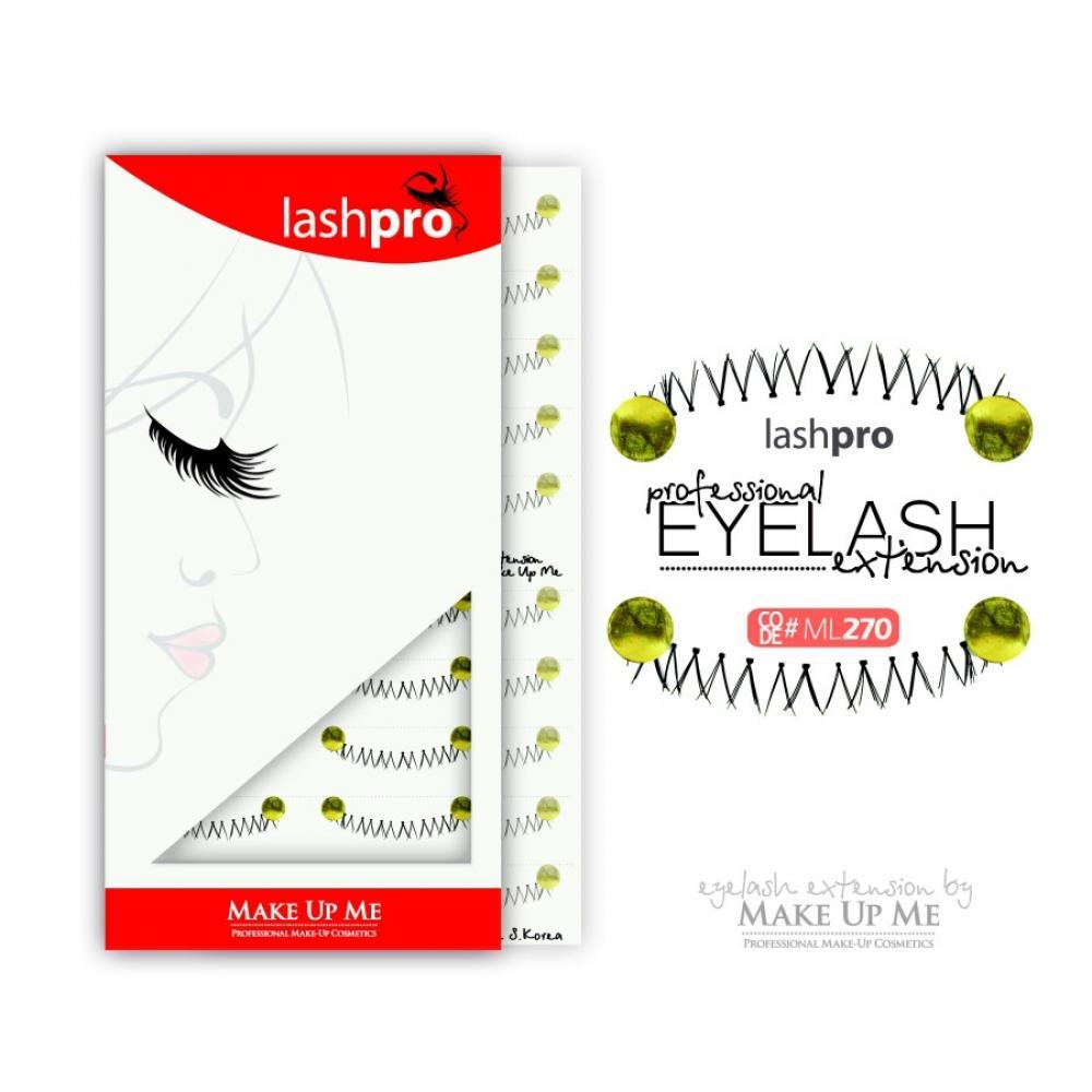 Купить Профессиональный набор ресниц для нижнего века 10 пар - Make Up Me LashPro ML270