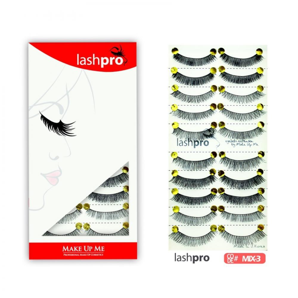 Купить Универсальный набор ресниц 5 видов 10 пар - Make Up Me LashPro MIX-3