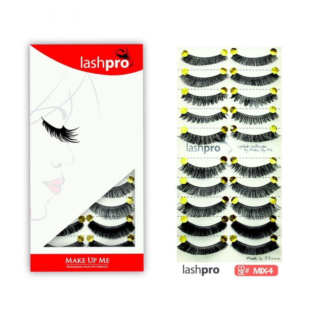 Купить Универсальный набор ресниц 5 видов 10 пар - Make Up Me LashPro MIX-4