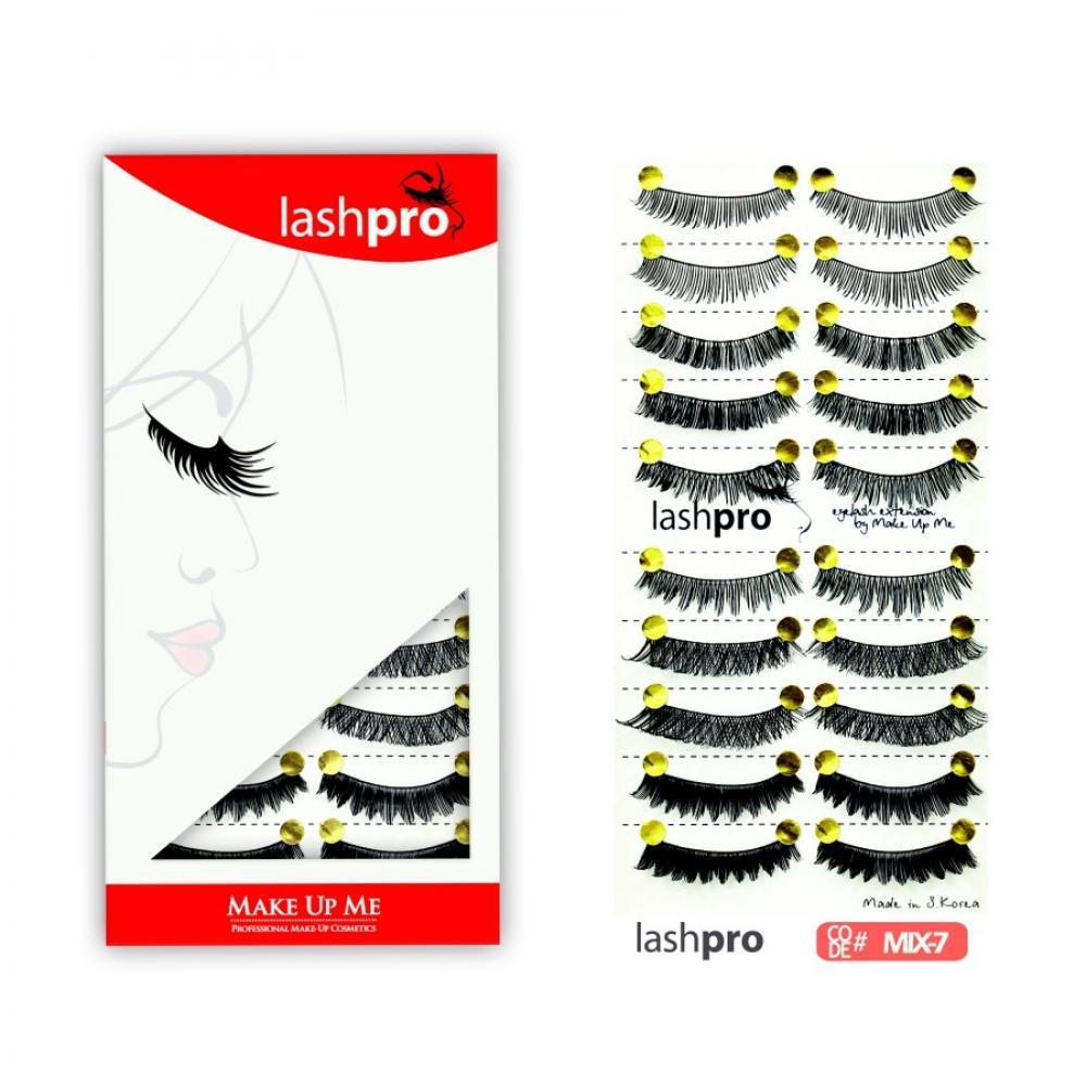 Купить Универсальный набор ресниц 5 видов 10 пар - Make Up Me LashPro MIX-7