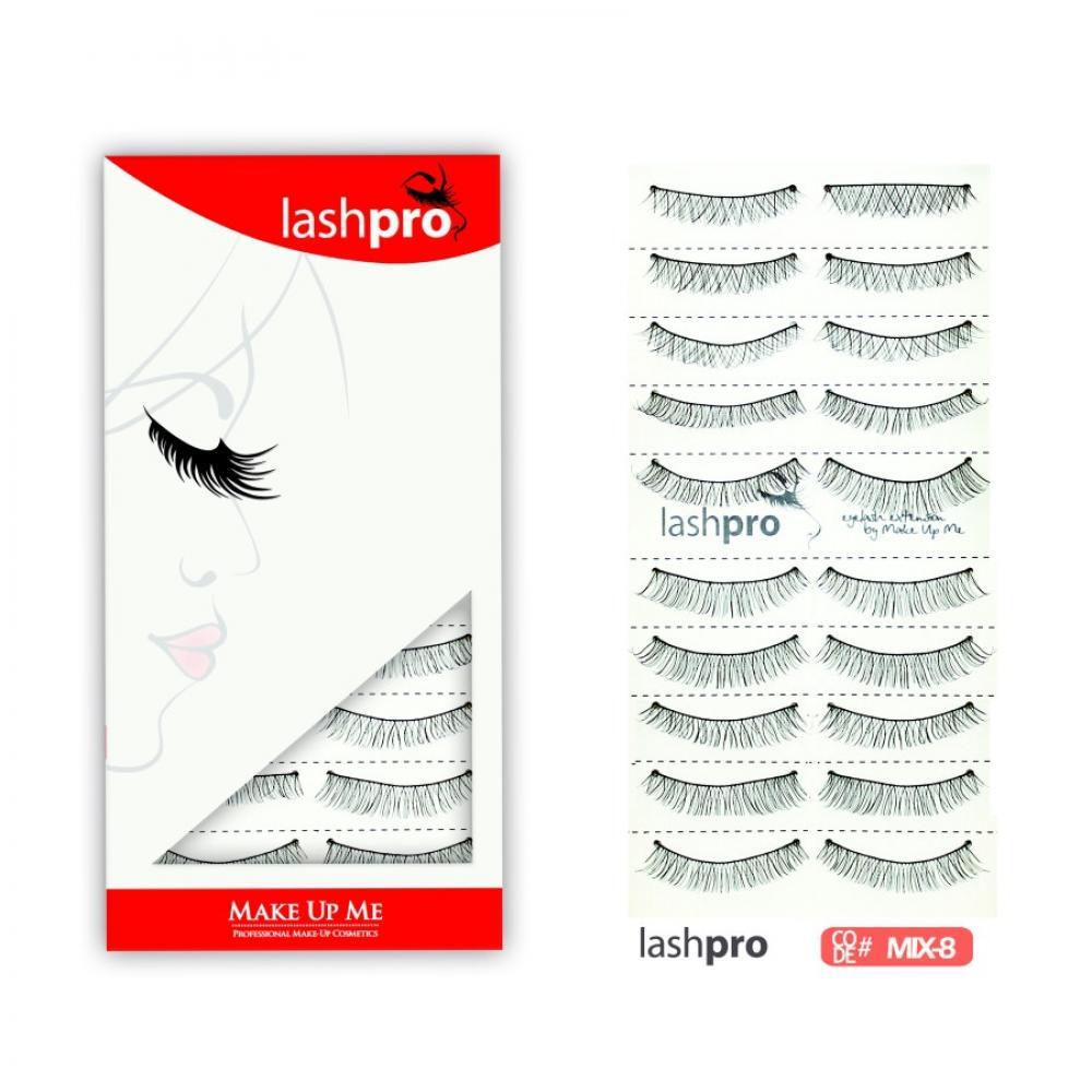 Купить Универсальный набор ресниц 5 видов 10 пар - Make Up Me LashPro MIX-8
