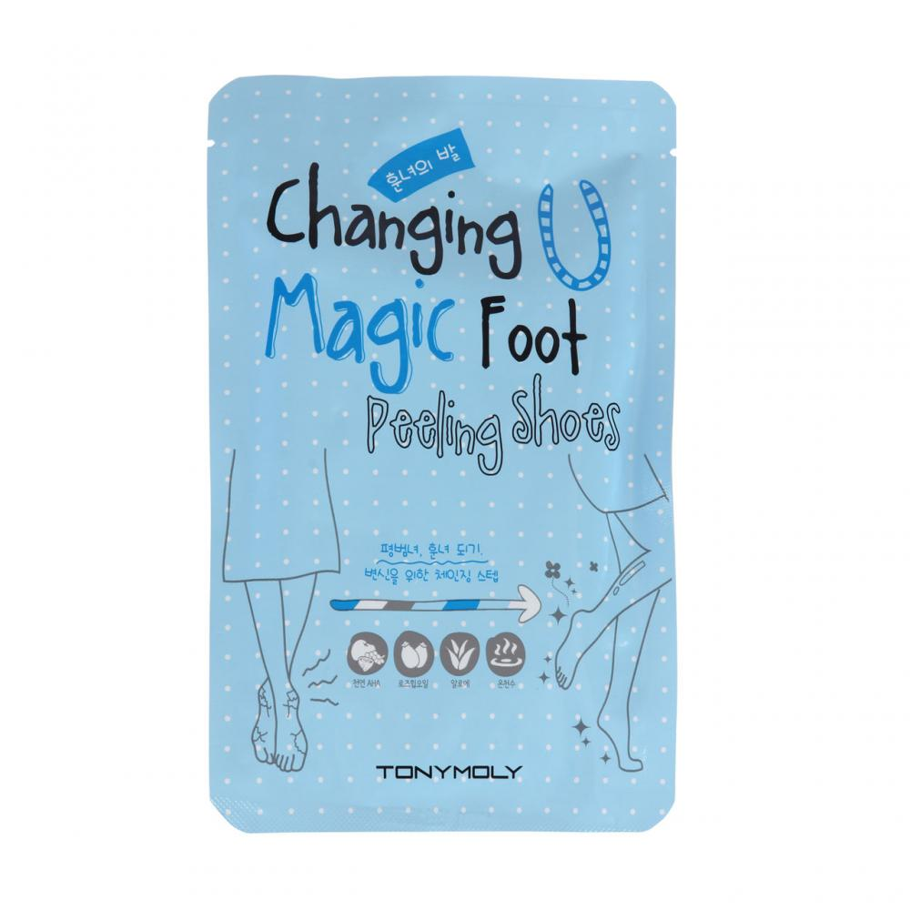 Купить Пилинг-носочки - Tony Moly Changing U Magic Foot Peeling Shoes