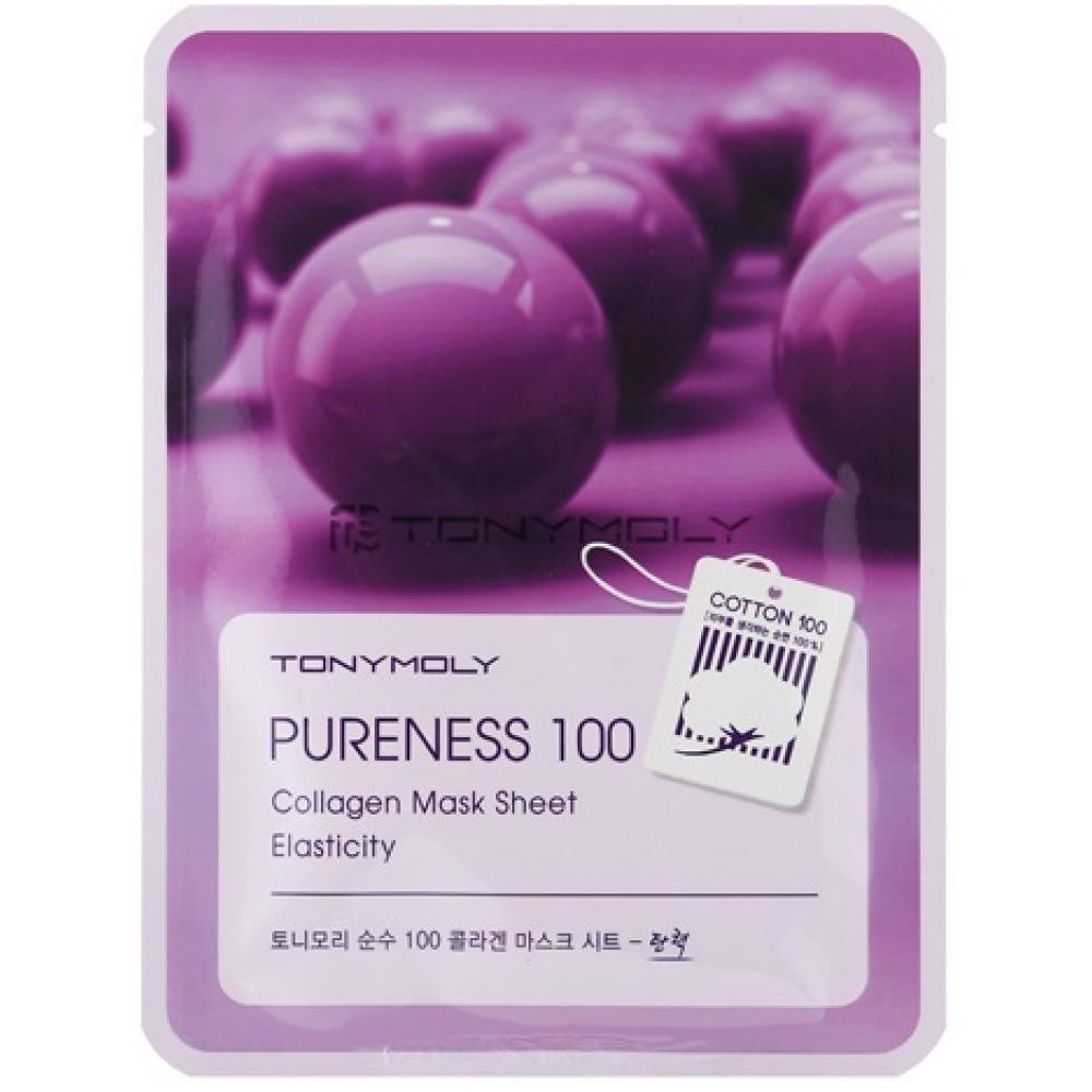 Купить Маска с коллагеном Tony Moly Pureness 100 Collagen Mask Sheet Elasticity