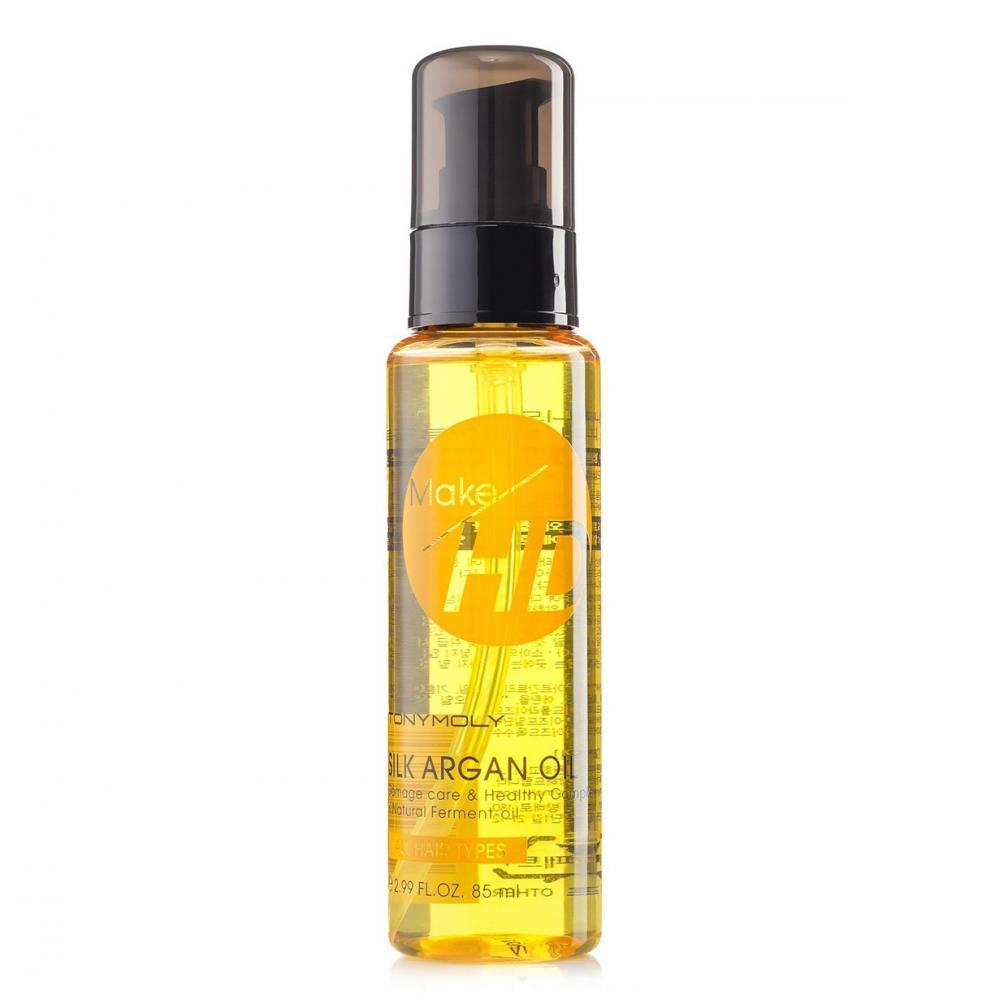 Купить Аргановое масло для волос Tony Moly Make HD Silk Argan Oi